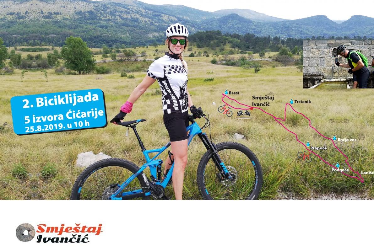 2. biciklijada 5 izvora Cicarije