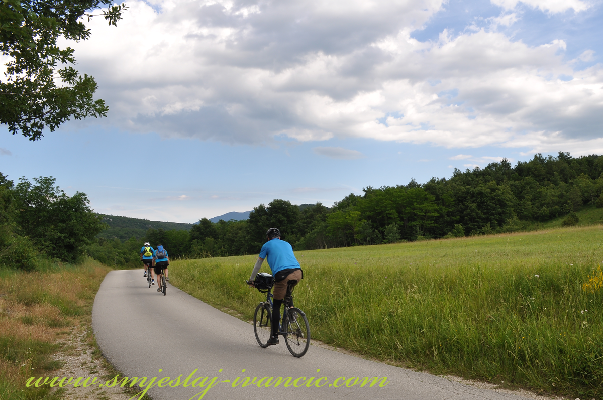 Biciklističke staze Istra Buzet-Hum
